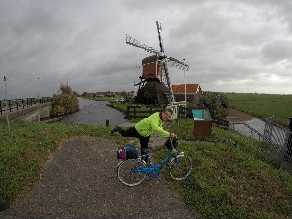 Un vélo qui roule jusqu'en Hollande !