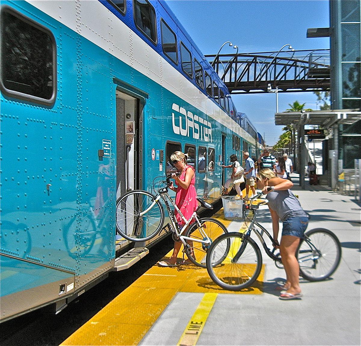Mon Vélo Dans le Train